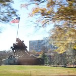 Photo of U.S. Marine Corps War Memorial