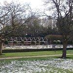 Moseley Old Hall garden
