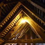 Inner roof timbers