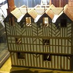 Architectural model of the Old Hall in its prime