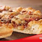 Nuestra famosa barbacoa; es la pizza que pide el 25% de nuestros clientes. Por algo será¡¡¡