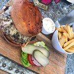 Lovely food, service great, burger bun needs a rethink
