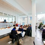 Gallery café, Image credit: Ian Kingsnorth