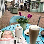 The sweetest cafe for lunch and coffee in town 💁♀️☕️👸🥗🥙🍲☀️☝️💖💋