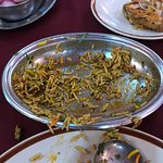 briyani with lots of oil and cloured