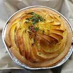 Chicken pie with potato on top