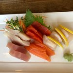 Chef's Sashimi Platter. Some of the fish was not as fresh as it should be.