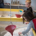 Sand Pendulums in the Yes, It's Math! gallery