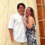 She said YES aboard Sail Selina II, St Michaels MD