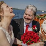 The happiest day of my life.  Sail Selina II, St Michaels MD