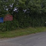 Sign to the Inn on A1301