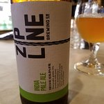 IPA from Lincoln's Zip Line brewery