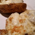 Chicken Parmesan Meal..Very Tasty, Fresh Baked Potato
