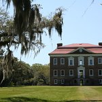 Drayton Hall - from the back