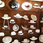 Retail display of over 90 sombrero designs!