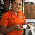 The delicious Crocantes de Nuez