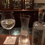 The 1864 bar does a fab Colombo GnT