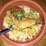 a chicken and chickpeas special