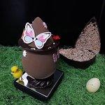 Création de Pâques 2018 - L'œuf collector - chocolat noir