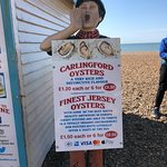 Check out the best oysters in Brighton & look at the prices
