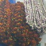 Garlands of Lords favorite flowers