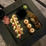 We were served this surprise platter to sample and it was seriously the best sushi I ever tasted