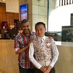 With Arbin Thapa Magar