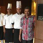 With Chef Shyamal, Chef Joydeep & Chef Swanand
