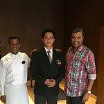 With Goutam Dey( Associate) & Mathew Lepcha (Manager)