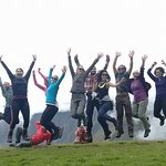 Jumping for Joy on the Inca Trail!