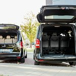 Specious boots of Krakowdirect Mercedes V class vans