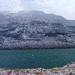 Elidir Fawr, the 'electric mountain' beneath which lies Dinorwic power station.