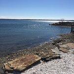 Peconic Bay five minute walk