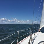 Sailing the Peconic Bay
