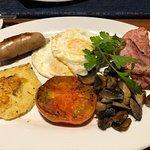 The Kelsey Restaurant- British breakfast was fantastic.
