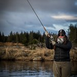 Learning to cast a Switch Rod