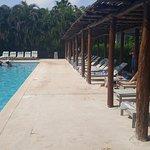 Private pool area at Platinum