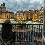 view from Executive Suite with Balcony during Christmas Markets