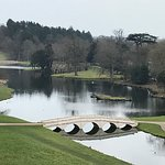 View of Painshill Lake