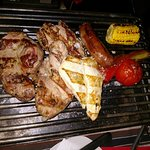 Mixed Grill 1 person.