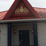 The outside entrance to Kirin China Grill