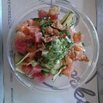rice bowl tuna and salmon