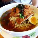 Chicken Katsu Ramen - broth was salty without much meat flavor