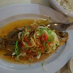 Fried Fish in Thai Sauce