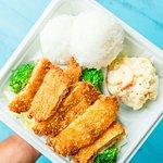 Ono Hawaiian BBQ Chicken Katsu Plate