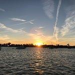 Dreamy Sunset from on board Kuma Too