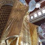 Standing Buddha, Burmese temple, Penang