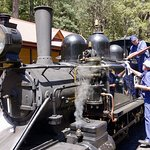 Puffing Billy refueling