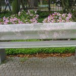 One of the pretty benches to relax on