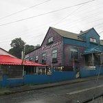 El frente del restaurante